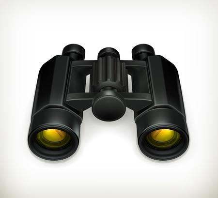 Binoculars Stock Vector - 13900009