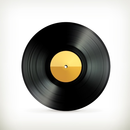 turntables: Vinyl record