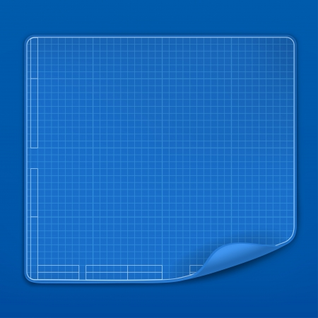 Blueprint, vector Vector