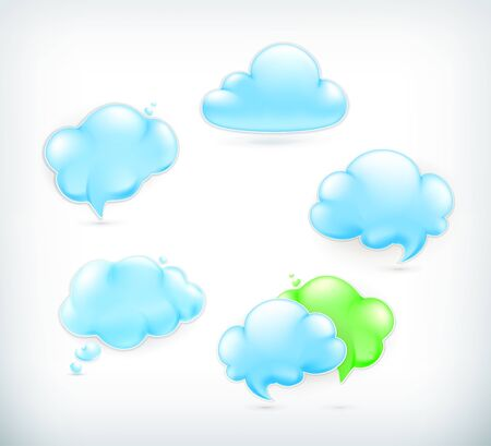 wheather forecast: Clouds Illustration
