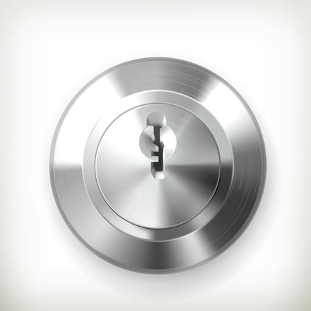 closed door: Keyhole