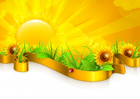 Landscape background Stock Vector - 14282050