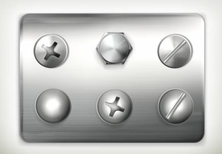 rivet: Set of screws