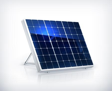 PLACAS SOLARES: Panel solar Vectores
