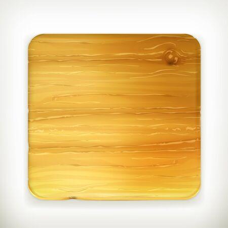 Tavola di legno Vettoriali