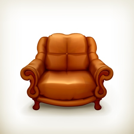 old sofa: Chair