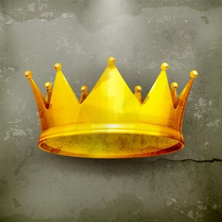 király: Crown, régi stílusú