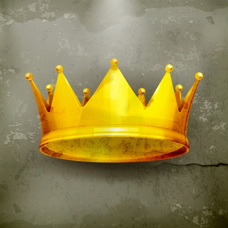 king crown: Crown, old-style