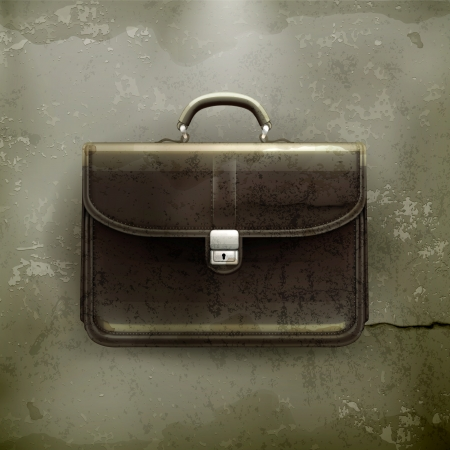 brief case: Brief case, old-style