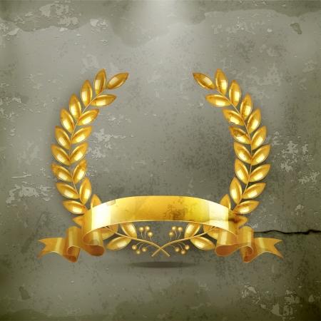 premios: Corona de oro de estilo antiguo