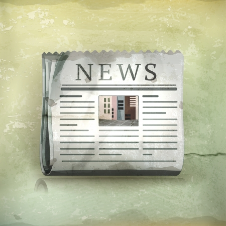 international news: Newspsper, old-style
