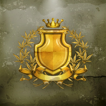 monarchy: Coat of arms, old-style