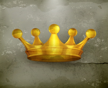 Crown old-style Vector