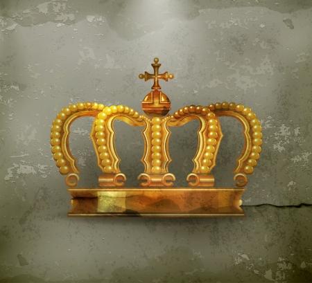 corona real: Corona, al viejo estilo