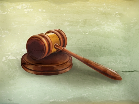 proceeding: Gavel, old-style