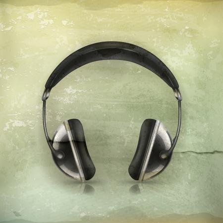 ear phones: Head phones, old-style