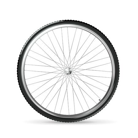 bicyclette: Roue de bicyclette