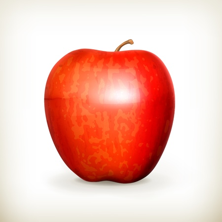 apple red: Red apple