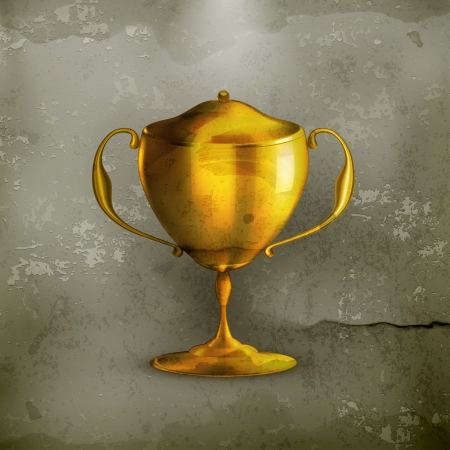 Golden Prize, old-style Vector