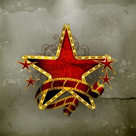 etoile or: Star de cin�ma, vieux style
