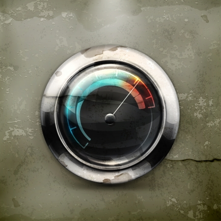 miles: Speedometer, old-style