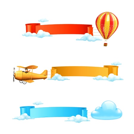 yellow adventure: Air banners