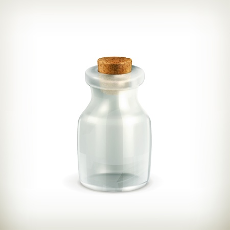 Empty jar, icon Stock Vector - 15538797