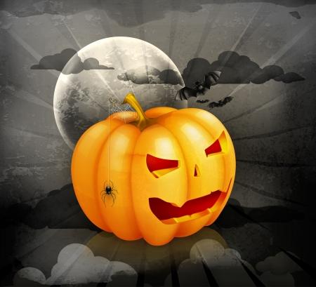 Halloween background Stock Vector - 15538914