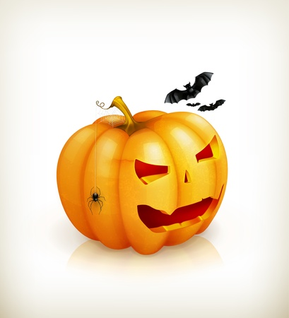 Halloween Pumpkin Stock Vector - 15538908