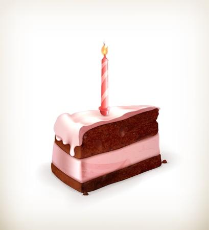 Piece of cake Stock Vector - 15538807