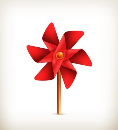 pinwheel: Pinwheel toy Illustration