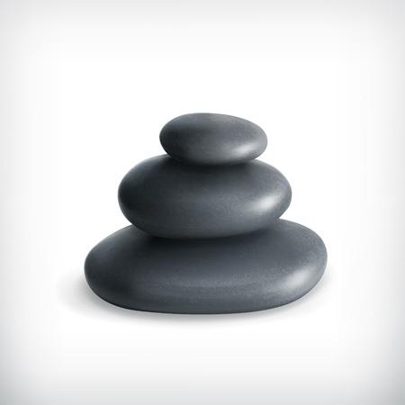 Stones, icon Stock Vector - 15538872
