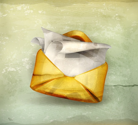 e mail: Letter, old-style