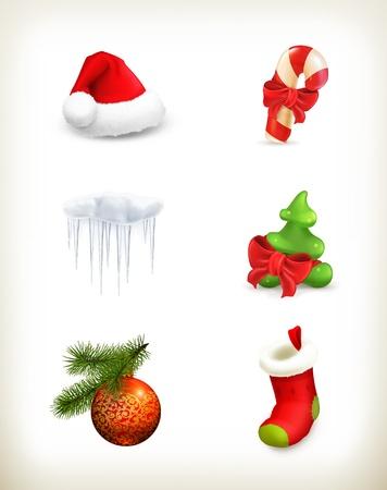 Christmas set Stock Vector - 16295508