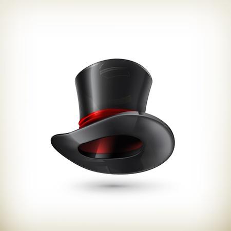 hat trick: Cappello a cilindro Vettoriali