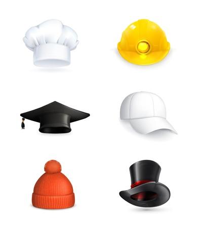 chef hat: Hats set