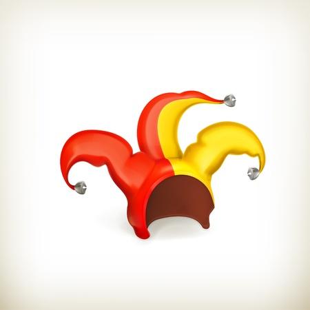 web cap: Jester cap Illustration