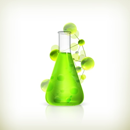vial: Laboratory flask