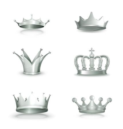corona reina: Coronas de plata, ajuste