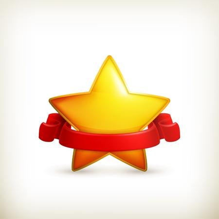 yellow star: Star, award