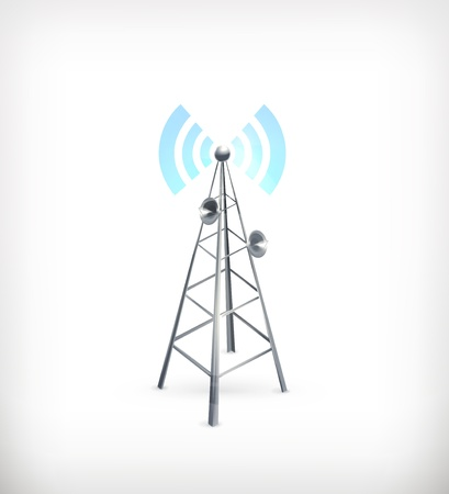 wireless tower: Wireless, icon