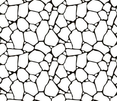 rubble: Stones seamless pattern