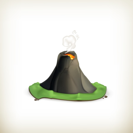 Volcano, icon