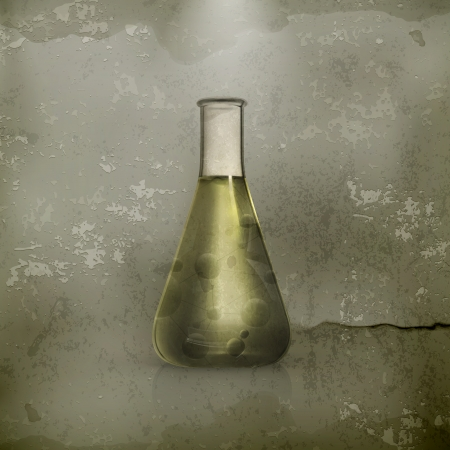 vial: Laboratory flask, old-style