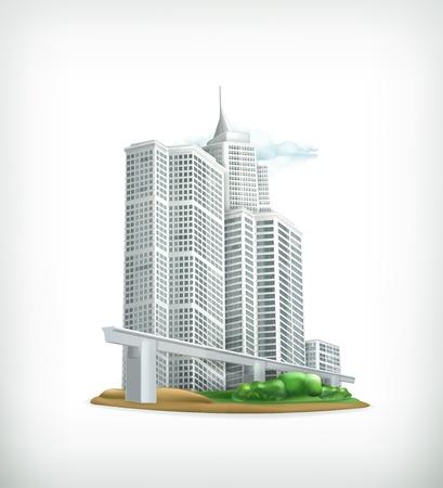 City Stock Vector - 17885360