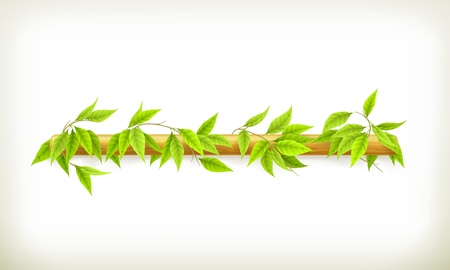 bush mesh: Foliage banner