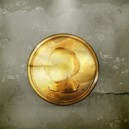 monete antiche: Moneta d'oro, vecchio stile