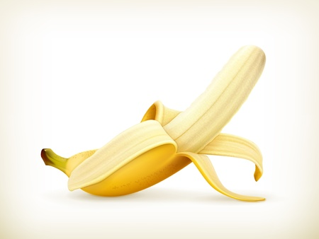 banana peel: Banana Illustration