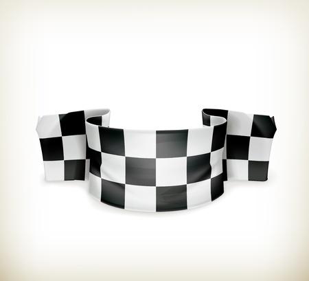 Checkered flag Stock Vector - 18825016