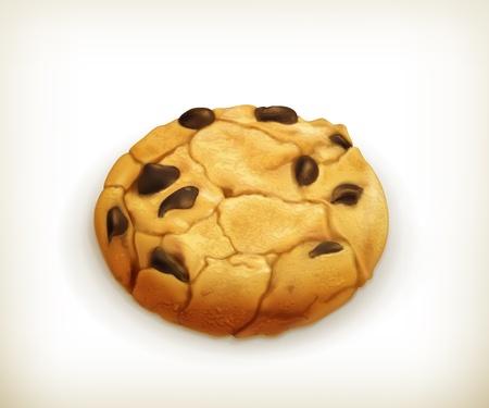 cookie chocolat: Biscuit au chocolat, ic�ne